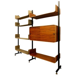 Franco Campo and Carlo Graffi Shelving Unit, Italy For Sale