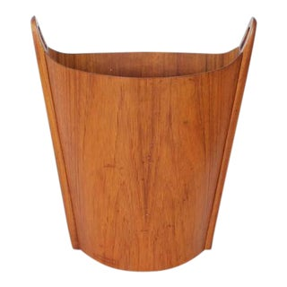 Mid Century Einar Barnes For Heggen Waste Basket For Sale