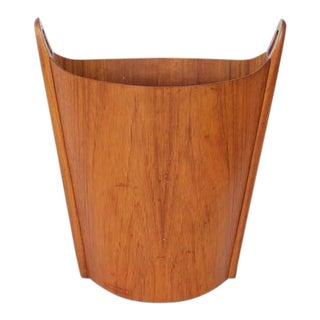 Mid Century Waste Basket By Einar Barnes For Heggen
