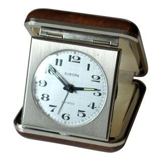 1970s Vintage Travel Alarm Clock For Sale