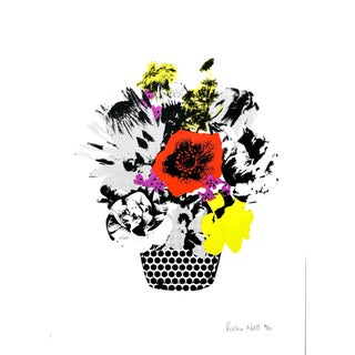 """Dutch Vase"" Contemporary Still Life Print by Rosha Nutt For Sale"