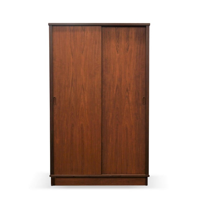 """Producer: Danish Furniture Makers Model: Wardrobe Time Period: 1950´s Dimensions: 40"""" wide, 24"""" deep, 64.5"""" high Material:..."""