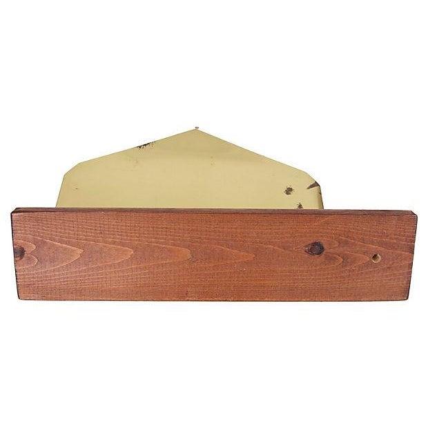 Midcentury Brass Letter & Pen Office Desk Set For Sale - Image 4 of 5