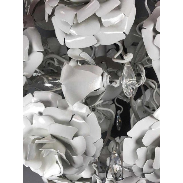 """Brand Van Egmond Floral """"Love You Love You Not"""" Chandelier For Sale In New York - Image 6 of 9"""
