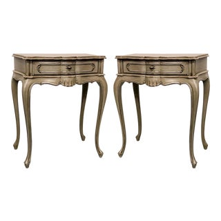French Style Side Tables - A Pair