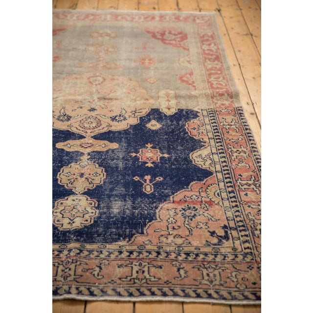 """Vintage Distressed Sivas Rug - 4'10"""" X 7'7"""" For Sale In New York - Image 6 of 12"""