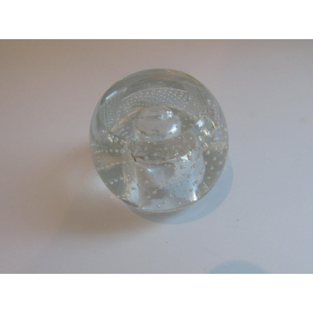 Early 20th Century Antique Glass Match Striker For Sale - Image 5 of 8