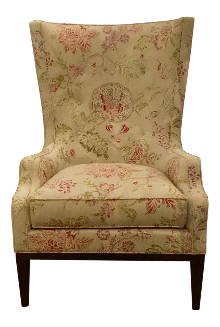 Superieur Hickory Chair Elliot Wing Chair