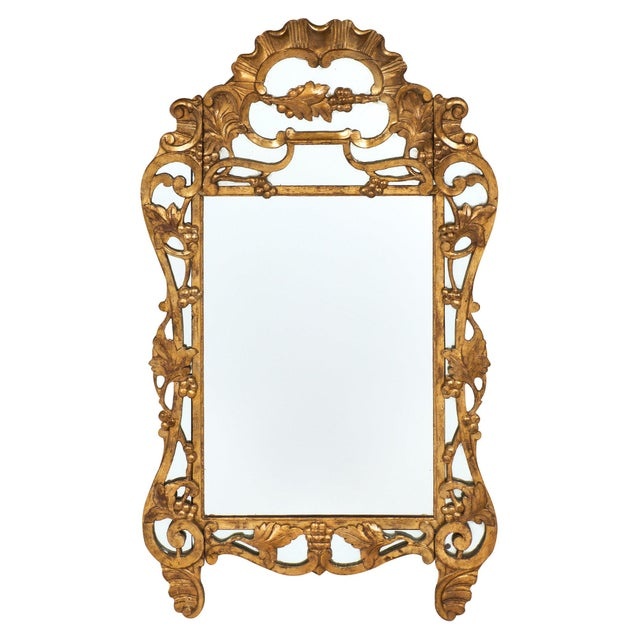 "French Antique Louis XIV Style ""Pareclose"" Mirror For Sale - Image 11 of 11"