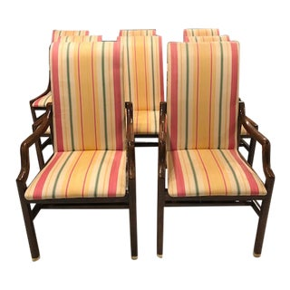 Mid- Modern Dining Chairs - Set of 8 For Sale