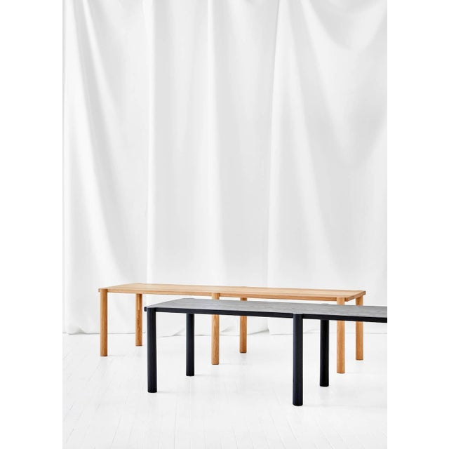 Contemporary Wc5 Bench by Ash Nyc in White Oak For Sale - Image 3 of 5