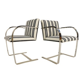 Kule X Forsyth Ludwig Mies Van Der Rohe Brno Chairs, Pair For Sale