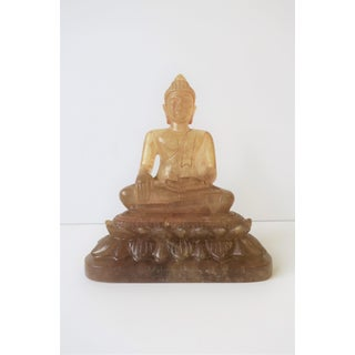 Chinese Rock Crystal Buddha Sculpture Preview