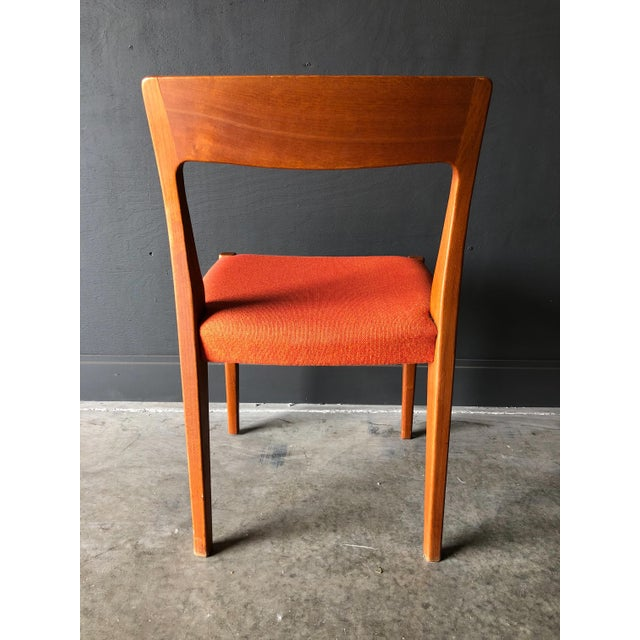 1960s Swedish Teak Dining Chairs For Sale - Image 5 of 9