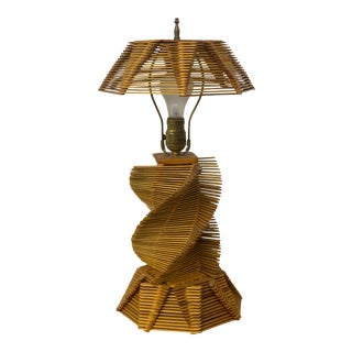 Mid-Century Modern Handcrafted Popsicle Lamp For Sale
