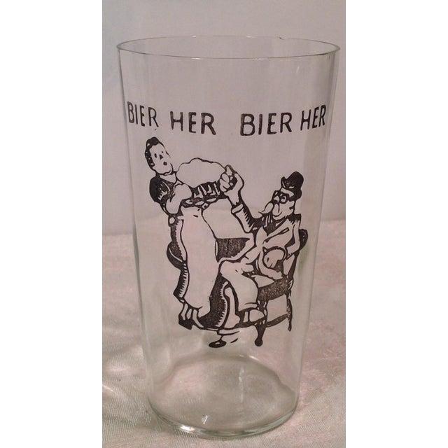 Vintage German Beer Glasses - Set of 3 - Image 4 of 5