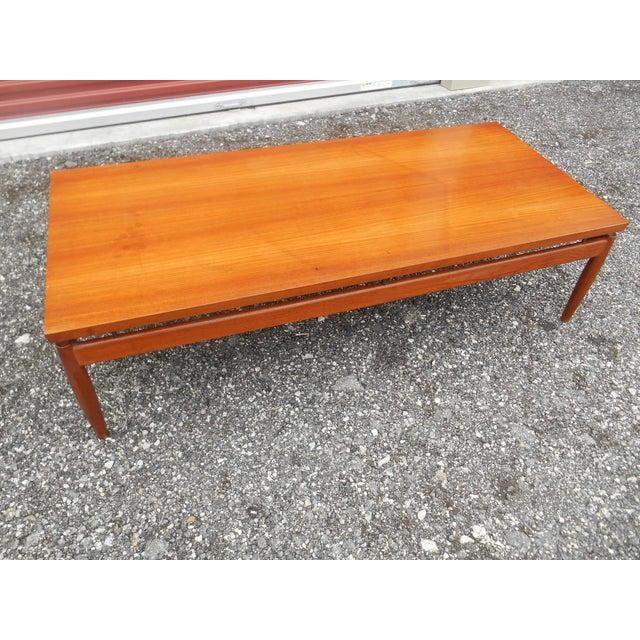 1960s Danish Modern Finn Juhl Teak Floating Coffee Table ...
