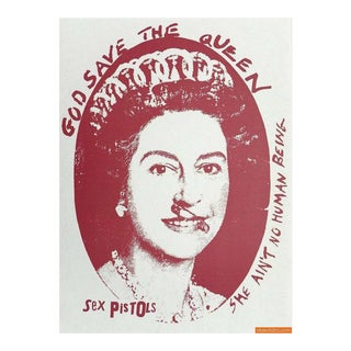 """God Save the Queen"" Print by Jamie Reid For Sale"
