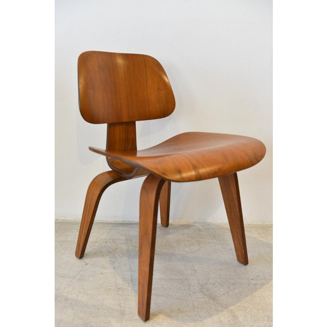 1970s 1970s Mid-Century Moderm Eames DCW Molded Plywood Chair For Sale - Image 5 of 9