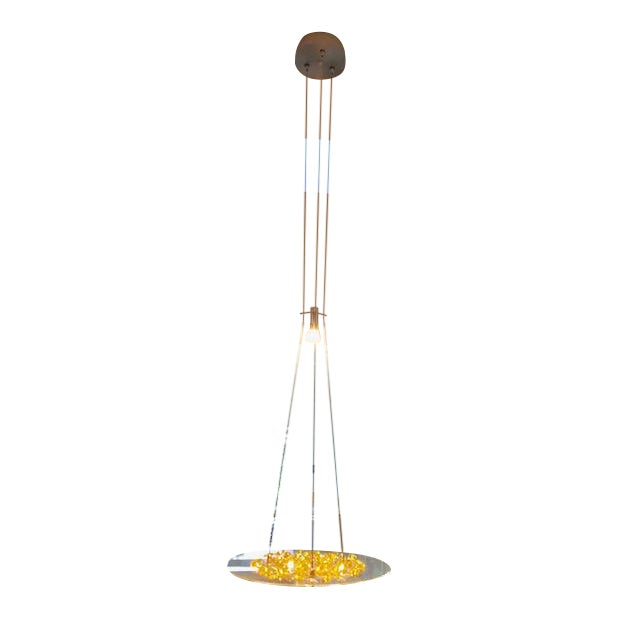 4e9fd594f688 Piattini Amber Swarovski Pendant Light For Sale. Technical details Includes  60IN (5FT) of field-adjustable cable ...