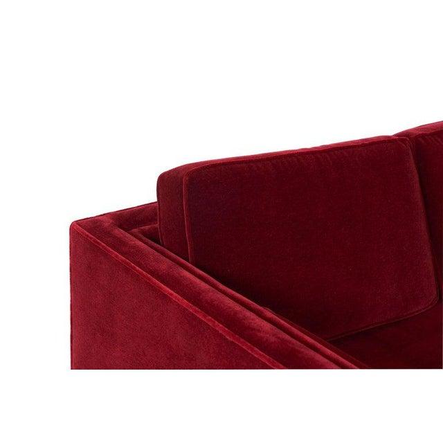 Ward Bennett Ward Bennett Tuxedo Sofa For Sale - Image 4 of 6