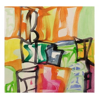 """Melissa Meyer """"Capital B"""", Painting For Sale"""