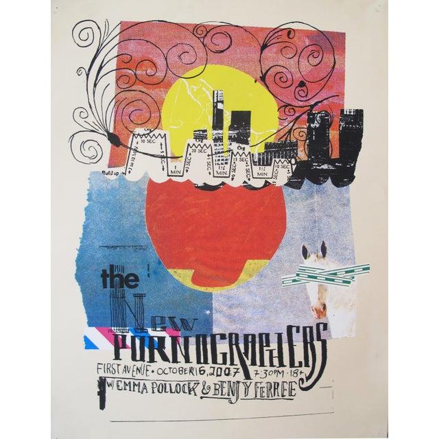 2007 Original American Concert Poster For Sale
