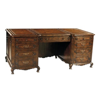 Scarborough House 9 Drawer French Country Desk For Sale