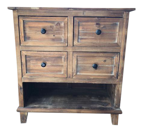 Rustic Reclaimed Wooden Storage Cabinet