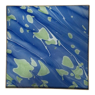 Jill Seale Hand-Marbled DecoupagedTray
