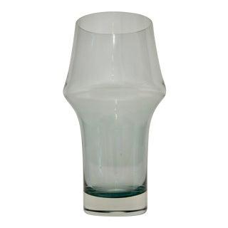 Blue Scandinavian Riihimäen Lasi Oy Vase For Sale
