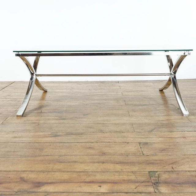 Contemporary Z Gallerie Barcelona Coffee Table For Sale - Image 3 of 7
