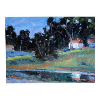 Original Oil Painting, Landscape Plein Air For Sale