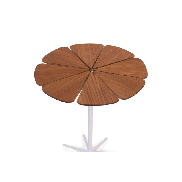 Contemporary 1970s Richard Schultz for Knoll Petal Side Table For Sale - Image 3 of 6