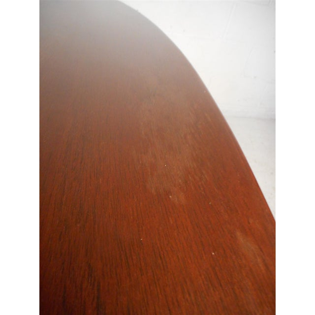 Midcentury Dining Table by Knoll For Sale - Image 9 of 13