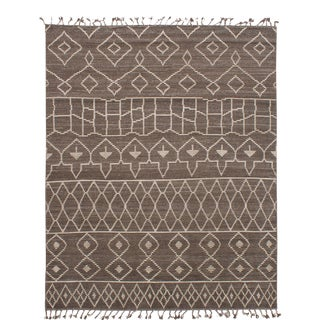 "Moroccan Style Hand-Knotted Rug-8'0"" X 10'0"" For Sale"