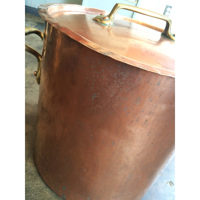 1930s French Copper Stockpot - Image 3 of 8