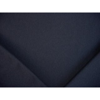 10-1/2y Kravet Couture 33127 Baltic Blue Heavy Wool Felt Upholstery Fabric For Sale