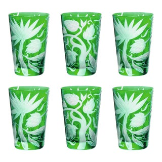 ARTEL Jungle Deco Tumbler in Emerald - Set of 6