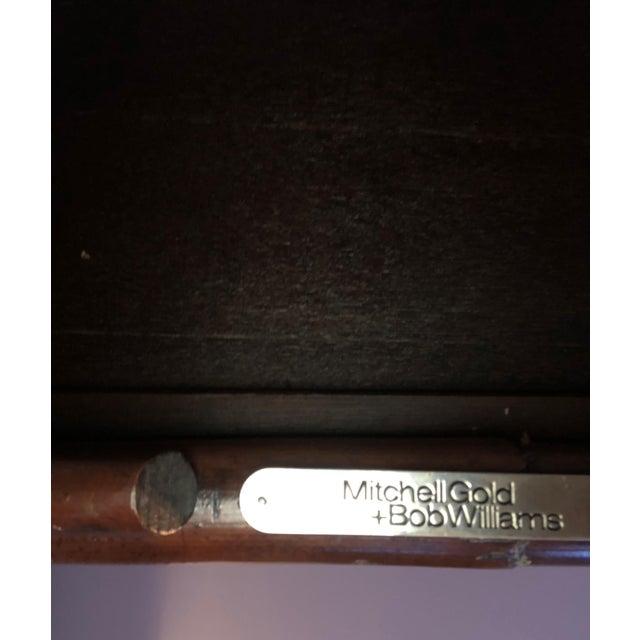 """Classic Bamboo Rattan Nesting Tables Mitchell Gold & Bob Williams. 23.5"""" W x 17""""D x 22.5""""T"""