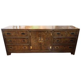 1970s Campaign Drexel Heritage Dynasty Dresser For Sale