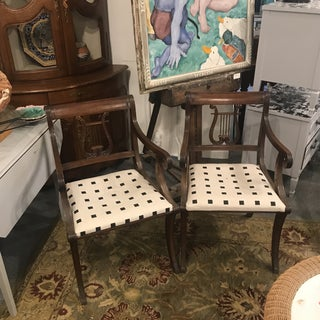 Mid 19th Century Phyfe Lyre Back Chairs - a Pair Preview