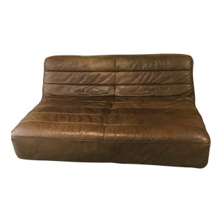 Restoration Hardware Chelsea Leather Sofa