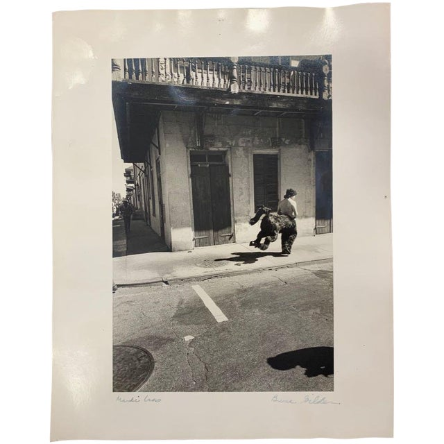 "Late 20th Century Vintage ""New Orleans Mardi Gras"" Photograph by Bruce Gildner For Sale"