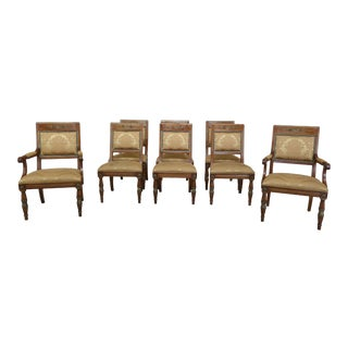 Henredon Regency Style Dining Room Chairs - Set of 8 For Sale