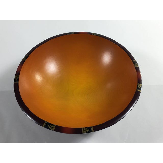 Mid-Century Modern Peggy Potter Wooden Bowl For Sale - Image 10 of 11