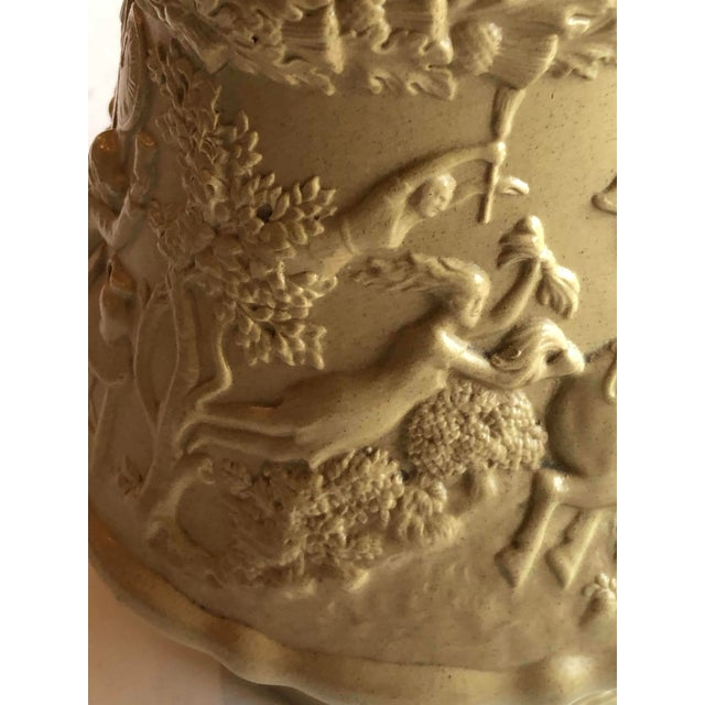Early 19th Century Antique Ridgway Drabware Jug For Sale - Image 5 of 12