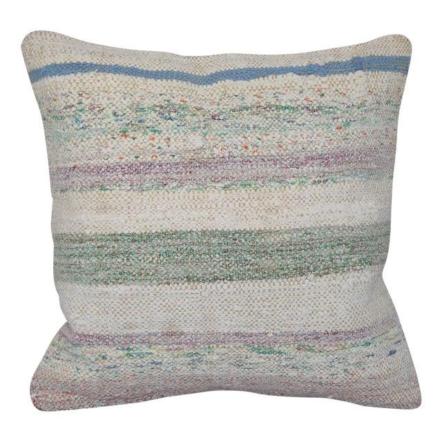 Turkish Handmade Kilim Pillow Cover - Image 1 of 6