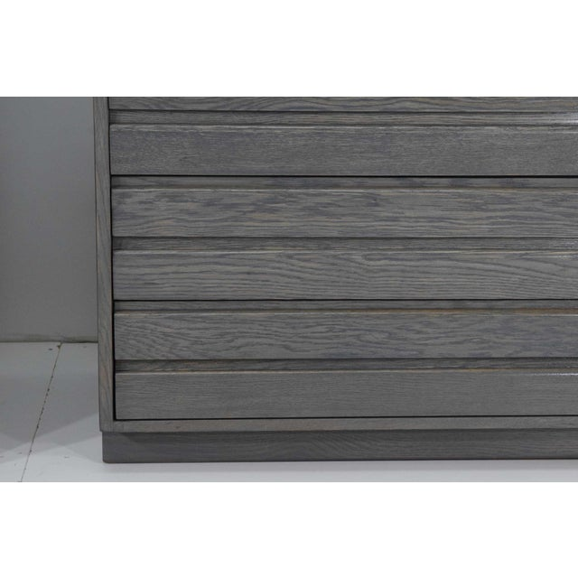 Sligh-Lowry Furniture Co. 1970s Mid Century Grey Stained Chests - a Pair For Sale - Image 4 of 10