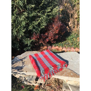 Early 20th Century Antique Wool Woven Coverlet Preview